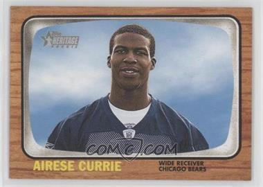 2005 Topps Heritage - [Base] #257 - Airese Currie