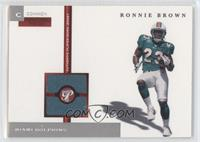 Ronnie Brown /1000