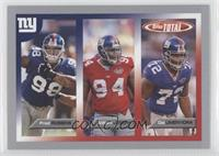 William Joseph, Osi Umenyiora, Fred Robbins