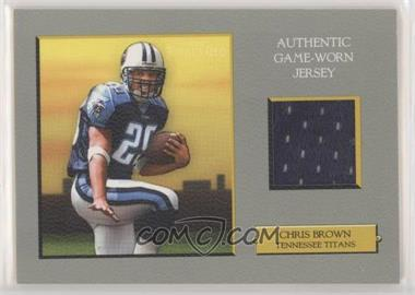2005 Topps Turkey Red - Relics #TRR-CB - Chris Brown