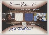 Braylon Edwards, Mike Williams /10