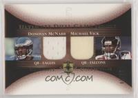 Donovan McNabb, Michael Vick #/15