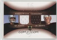 Andrew Walter, Charlie Frye /15
