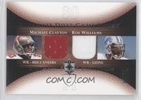 Michael Clayton, Roy Williams /50