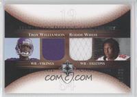 Troy Williamson, Roddy White /50