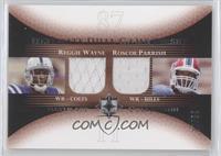 Reggie Wayne, Roscoe Parrish #/50