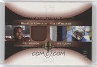 Braylon Edwards, Mike Williams #/10