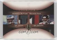 Donovan McNabb, Michael Vick #/10