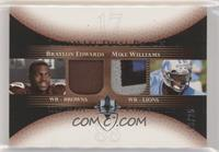 Braylon Edwards, Mike Williams #/25
