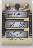 Mike Williams, Roddy White, Braylon Edwards /15