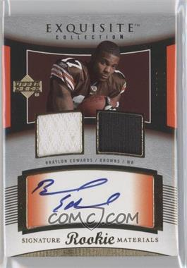 2005 Upper Deck Exquisite Collection - [Base] #115 - Braylon Edwards /99