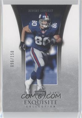 2005 Upper Deck Exquisite Collection - [Base] #26 - Jeremy Shockey /150