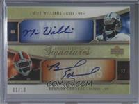 Mike Williams, Braylon Edwards, Troy Williamson, Roddy White #/10