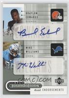 Braylon Edwards, Mike Williams /75