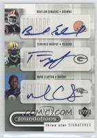 Terrence Murphy, Braylon Edwards, Mark Clayton /75