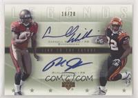 Cadillac Williams, Rudi Johnson #/20
