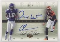 Troy Williamson, Chad Johnson #/20
