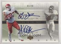 Larry Johnson, Marcus Allen #/20
