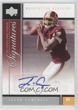 2005 Upper Deck NFL Players Rookie Premiere - Signatures #RS-JC - Jason Campbell