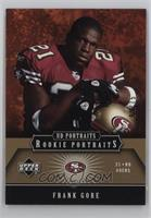 Frank Gore [Noted] #/75