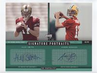Alex Smith, Aaron Rodgers /45