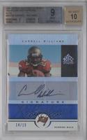 Cadillac Williams /15 [BGS 9]