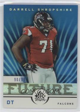 2005 Upper Deck Reflections - [Base] - Blue #120 - Darrell Shropshire /99 [Noted]