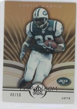 2005 Upper Deck Reflections - [Base] - Gold #66 - Curtis Martin /50
