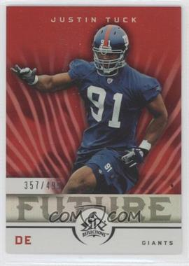 2005 Upper Deck Reflections - [Base] #263 - Justin Tuck /499