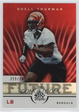 2005 Upper Deck Reflections - [Base] #265 - Odell Thurman /499