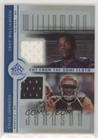 Troy Williamson, Chad Johnson #/50