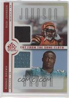 Rudi Johnson, Ronnie Brown