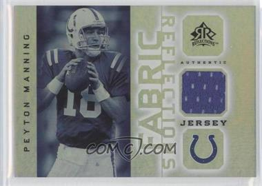 2005 Upper Deck Reflections - Fabric Reflections #FR-PM - Peyton Manning