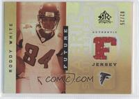 Roddy White #/25