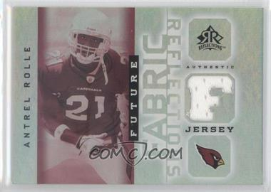 2005 Upper Deck Reflections - Future Fabric Reflections #FFR-AN - Antrel Rolle