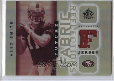 2005 Upper Deck Reflections - Future Fabric Reflections #FFR-AS - Alex Smith