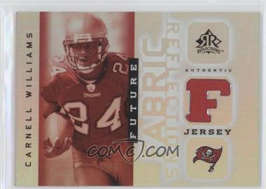 2005 Upper Deck Reflections - Future Fabric Reflections #FFR-CW - Cadillac Williams