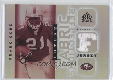 2005 Upper Deck Reflections - Future Fabric Reflections #FFR-FG - Frank Gore