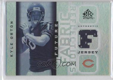 2005 Upper Deck Reflections - Future Fabric Reflections #FFR-KO - Kyle Orton