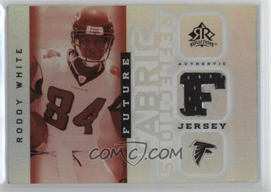 2005 Upper Deck Reflections - Future Fabric Reflections #FFR-RW - Roddy White