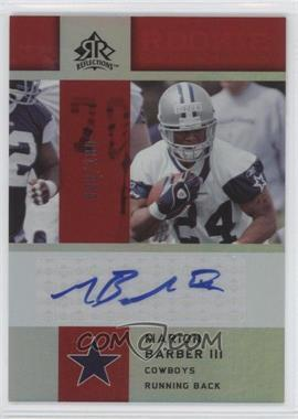 2005 Upper Deck Reflections - Rookie Exclusives Autographs - [Autographed] #RE-MA - Marion Barber III /100