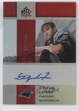 2005 Upper Deck Reflections - Rookie Exclusives Autographs - [Autographed] #RE-SL - Stefan LeFors /100