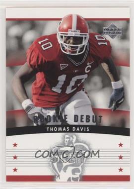 2005 Upper Deck Rookie Debut - [Base] #159 - Thomas Davis