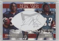 Vernand Morency, Ryan Moats #/10