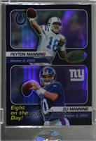 Peyton Manning, Eli Manning [Uncirculated]