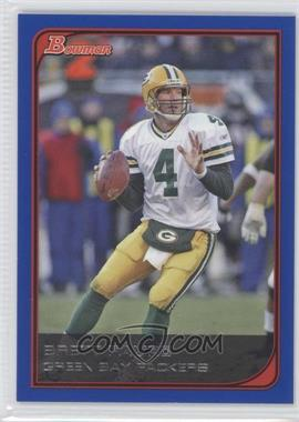 2006 Bowman - [Base] - Blue #6 - Brett Favre /500