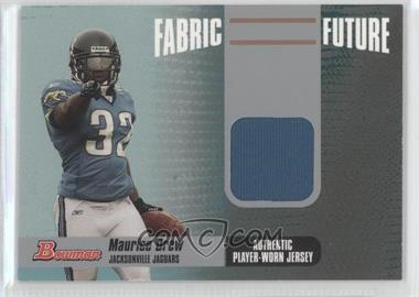 2006 Bowman - Fabric of the Future #FF-MD - Maurice Jones-Drew