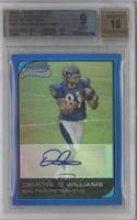 Demetrius Williams /75 [BGS 9 MINT]