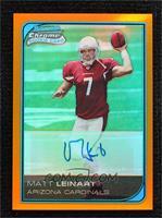Matt Leinart #/25