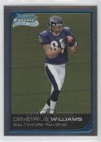 Demetrius Williams #/519